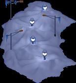 Snowville Track Curve NS 1 Snow