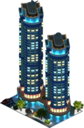 """Aurora"" Residential Complex (Night)"