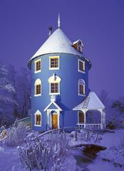 RealWorld Moomin House (Night)