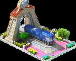 Silver Kumoya Locomotive Arch