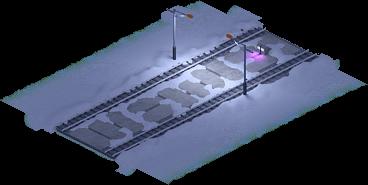 Snowville Track Straight Long NS