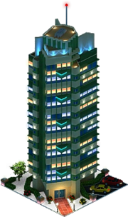 Price Tower (Night)