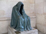 RealWorld Ghost Statue