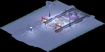 Snowville Track Straight Long NS Stopper 50%