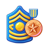 Badge Military Level 26