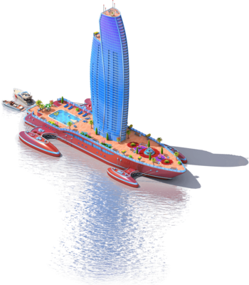 Skyscraper Ship L1