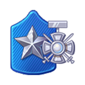 Badge Military Level 70
