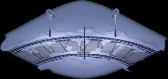 Snowville Track Curve EW 2