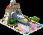 Silver Kodama Locomotive Arch