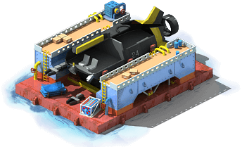 DSRV-56 Underwater Rescue Vehicle Construction