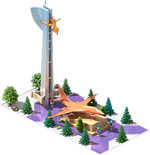 Bronze SB-30 Bomber Monument