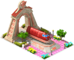 Bronze Talgo Locomotive Arch