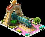 Gold Spark Locomotive Arch
