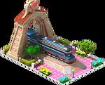 Bronze Duplex Locomotive Arch