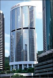 RealWorld Conrad Miami Hotel (left)