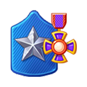 Badge Military Level 72
