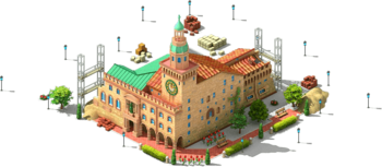 Bologna Town Hall Construction