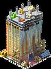 Donau City Tower Construction