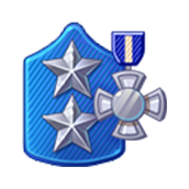 Badge Military Level 75