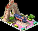 Bronze Pacific Locomotive Arch