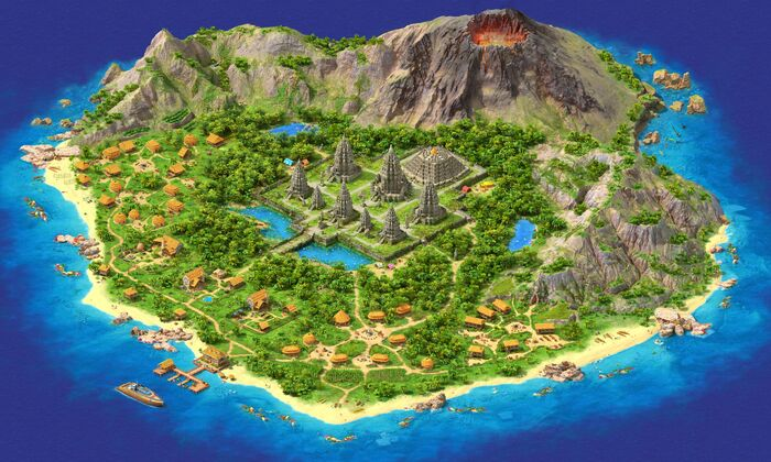 Lost Island 2 Gamemap