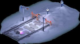 Snowville Track Straight Long SN Stopper 50%