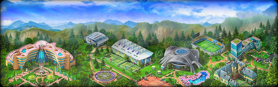 Tennis Tournament Background