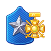 Badge Military Level 71