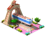 Bronze Fuji Locomotive Arch
