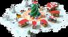 Christmas Square Initial