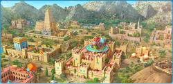 King Solomon's City Background