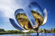RealWorld Solar Flower