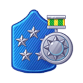 Badge Military Level 90