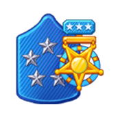 Badge Military Level 93