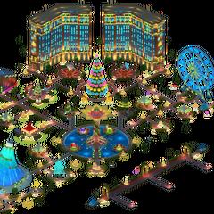 Christmas Night Area