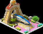Gold Hokuriku Locomotive Arch