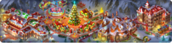 Holiday Square Background