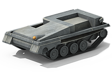 LP-22 Light Tank Construction
