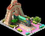Bronze Eisenhower Locomotive Arch
