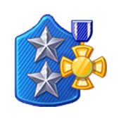 Badge Military Level 76