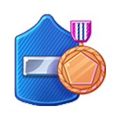 Badge Military Level 48