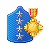Badge Military Level 86