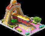 Gold McKeen Locomotive Arch