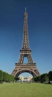 RealWorld Eiffel Tower