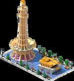 Gold APC-48 Monument