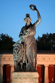 RealWorld Bavarian Statue