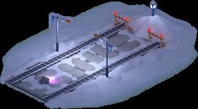 Snowville Track Straight Long SN Stopper 75%