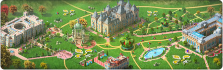 The Queen's Visit Background