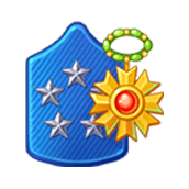 Badge Military Level 92