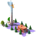 Bronze APC-36 Monument